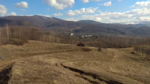 Vedere generală asupra limitei de SE a Sitului Pricop-Huta-Certeze