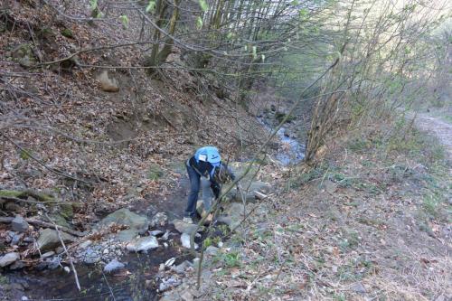 Zoița_Berinde la Valea Huta Certeze