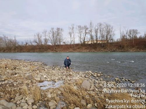 Evaluarea vizuală a turbidităţii apei râului Tisei în zona Piatra