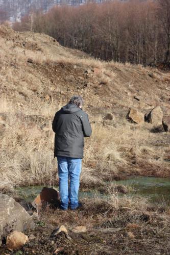 Fig. 6. In cautarea urmelor de animale