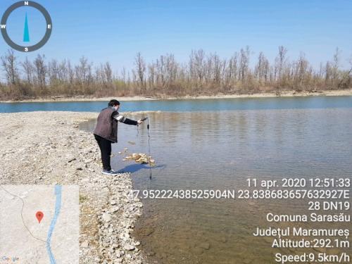 Analiza apei din lacurile Sarasău