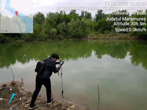 Măsurarea unor indicatori ai apei din zona lacurilor Sarasău