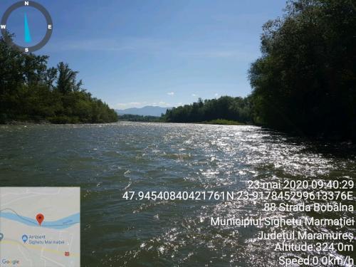 Peisaj_Râul Tisa la Sighetu Marmației