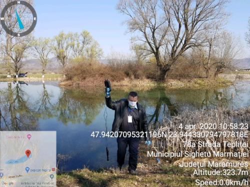 Analize fizico-chimice lacuri Sighetul Marmatiei 04.04.2020